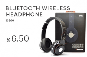 S460 Bluetooth Wireless Headphone