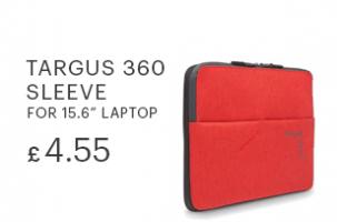 Targus 360 Sleeve for 15.6 inch laptop