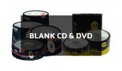 Blank CD & DVD