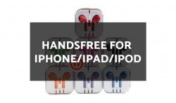 Wholesale Handsfree for iPhone/iPad/iPod