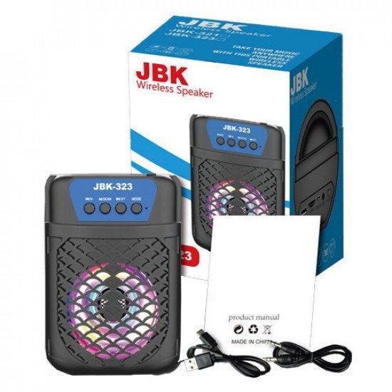 JBK-323 Mini Boom Box Bluetooth Speaker