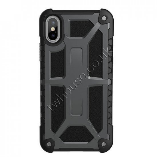 Metallic Military Case for iPhone XR