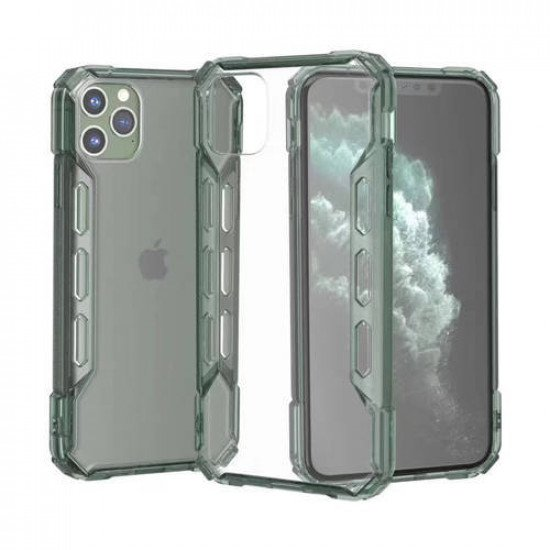"ZUZU Hybrid Protection Hard PC Clear Case for iPhone 12 Pro Max (6.7"")"