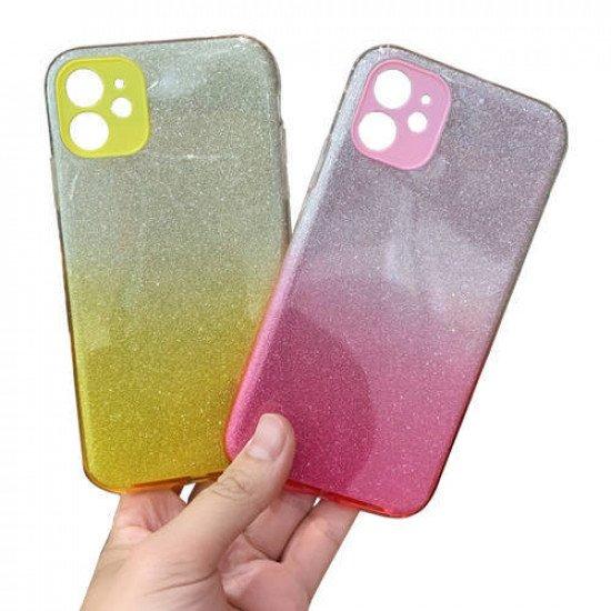 """ZUZU Glitter Silicone Soft Back Case for iPhone 12 Mini (5.4"""")"""