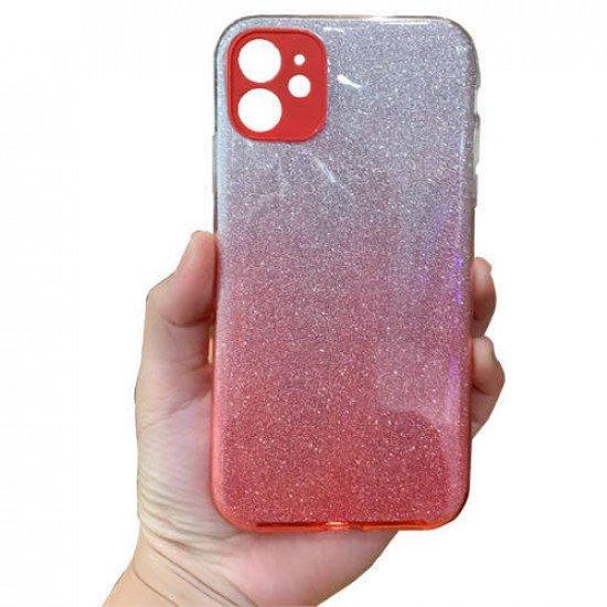 "ZUZU Glitter Silicone Soft Back Case for iPhone 12 Pro Max (6.7"")"
