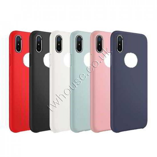 Silicone Back Phone Case for iPhone X