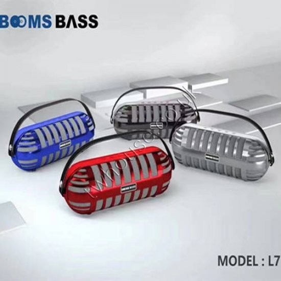 BOOMS BASS L7 Bluetooth Speaker