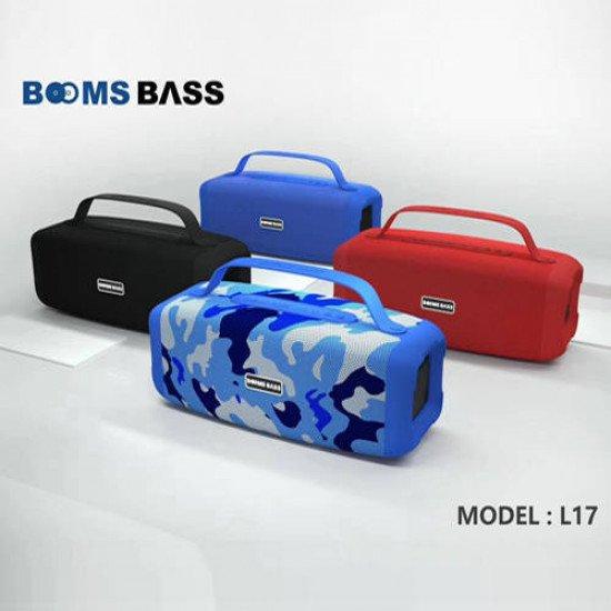 BOOMS BASS L17 Bluetooth Speaker