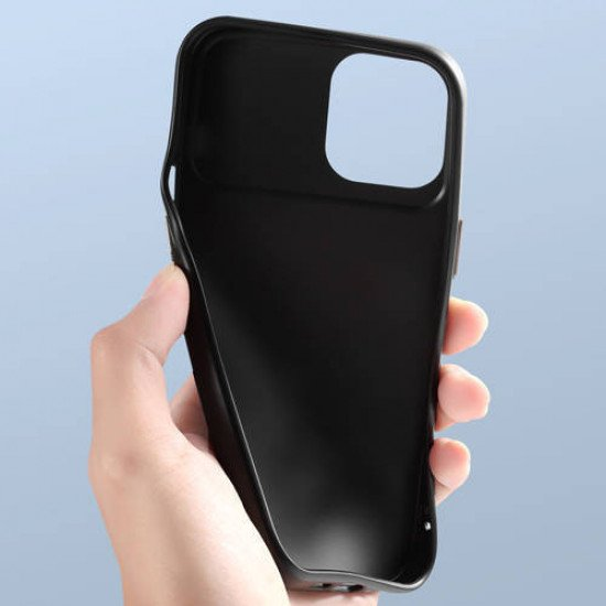 """ZUZU Back Cover Case with Slide Camera Cover for iPhone 12 Mini (5.4"""")"""
