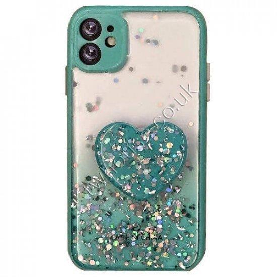 """ZUZU Liquid Glitter Hybrid Case for iPhone 12 Mini (5.4"""")"""