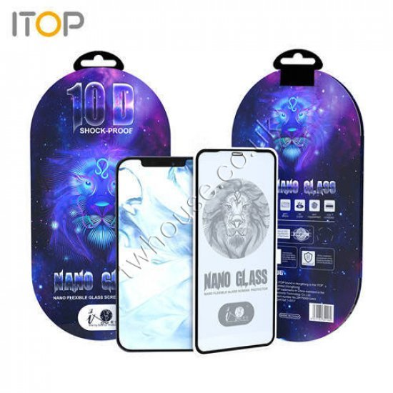 "ITOP 10D Premium Nano Flexible Glass Screen Protector for iPhone 12/12 Pro (6.1"")"