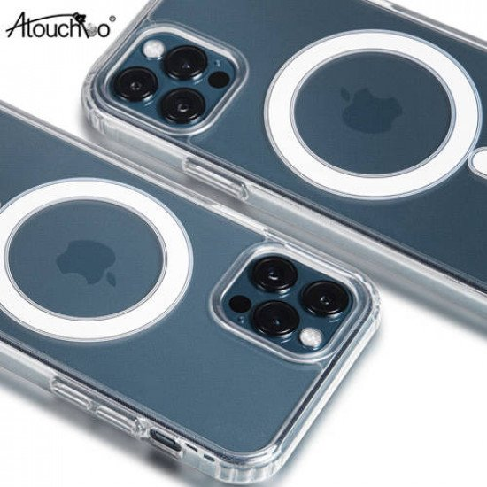 "Atouchbo Anti-Shock MagSafe Case for iPhone 12/12 Pro (6.1"")"