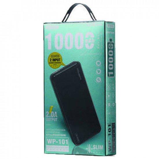 WK WP-101 Herze Max Series 10000mAh Power Bank (Black)