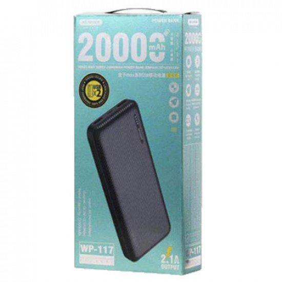 WK WP-117 Herze Max Seires 20000mAh Power Bank (Black)