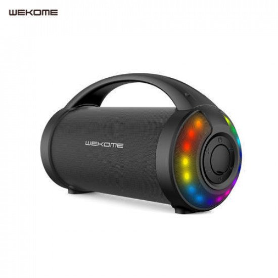 WK D22 Yutry Outdoor Portable Wireless Bluetooth Speaker (Black)