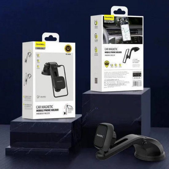 Pavareal CH55 Car Magnetic Dashboard Mobile Phone Holder (Black)