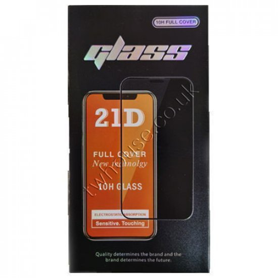 """21D 10H Full Cover Tempered Glass Screen Protector for 12 Pro Max (6.7"""")"""