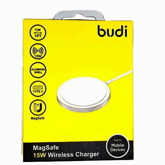 Budi WL3700S MagSafe 15W Wireless Charger
