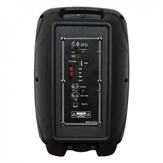 8 Inch Max Power Bluetooth Party Speaker BT-SPK800
