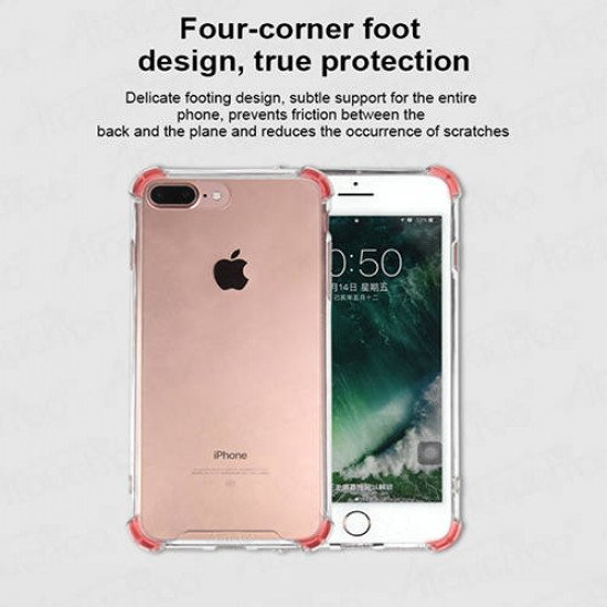 Atouchbo 10D 5 in 1 360 All-Round Protection Case for iPhone 6 Plus